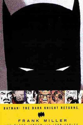 Batman The Dark Knight Returns Graphic Novel Trade Paperback TP Frank Miller DC Comics